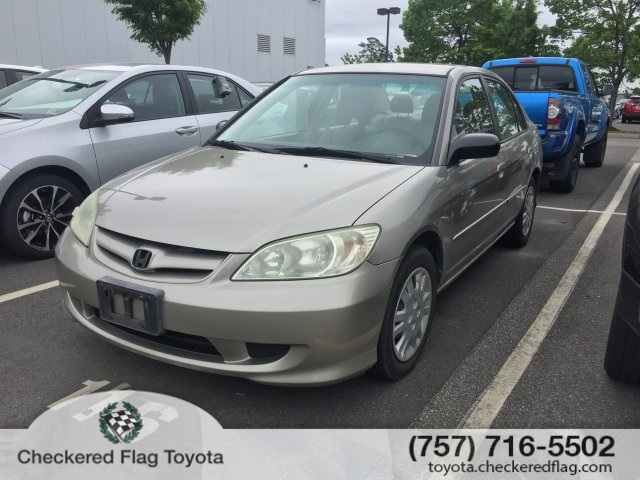 Pre Owned 2005 Honda Civic Lx