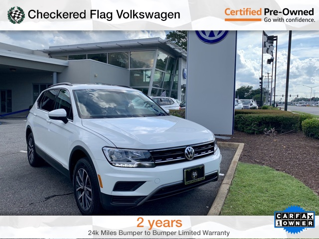 Certified Pre-Owned 2018 Volkswagen Tiguan 2.0T SE 4Motion