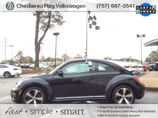 Certified Pre-Owned 2015 Volkswagen Beetle 2.0T R-Line
