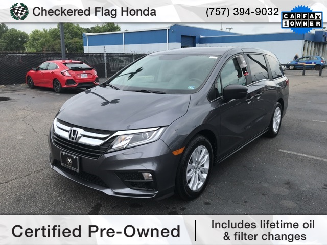Certified Pre-Owned 2018 Honda Odyssey LX