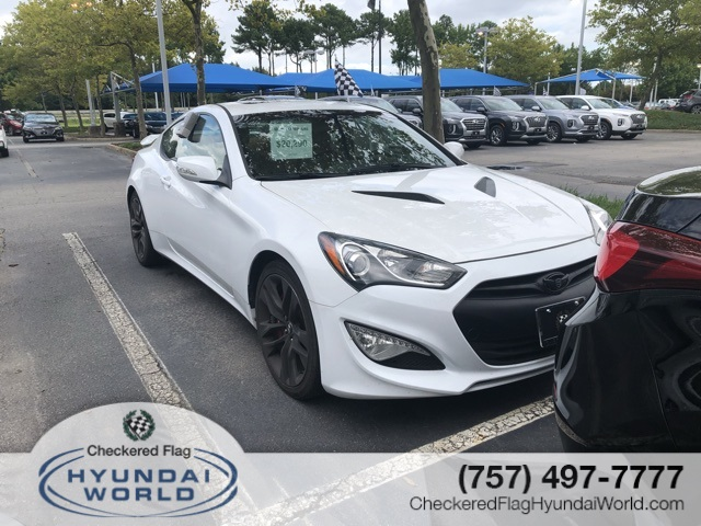 Genesis Coupe 2016 >> Pre Owned 2016 Hyundai Genesis Coupe 3 8 Ultimate Rwd 2d Coupe