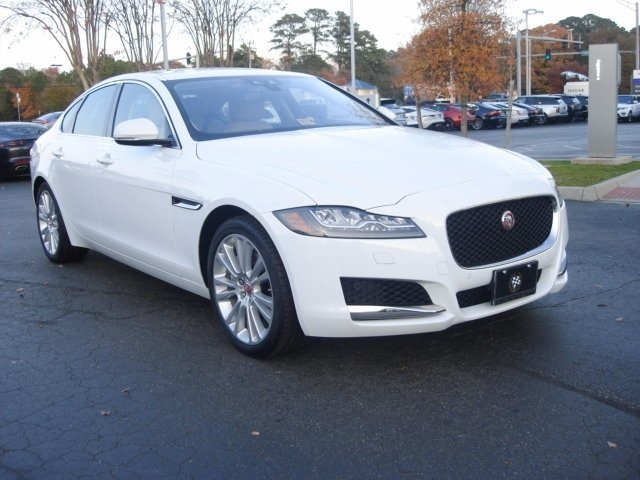 New 2018 Jaguar XF Prestige 4D Sedan in Virginia Beach L