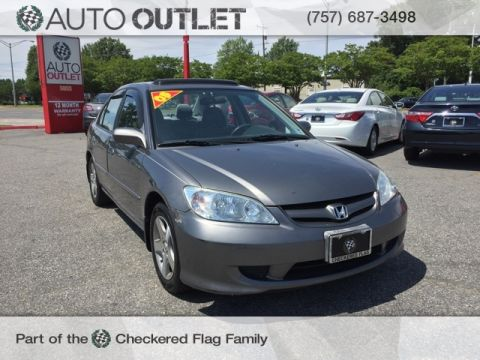 Pre-Owned 2005 Honda Civic EX